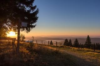 Ausblick vom Kalied in Düdinghausen, ©Sauerland-Höhenflug/ Kerstin Berens
