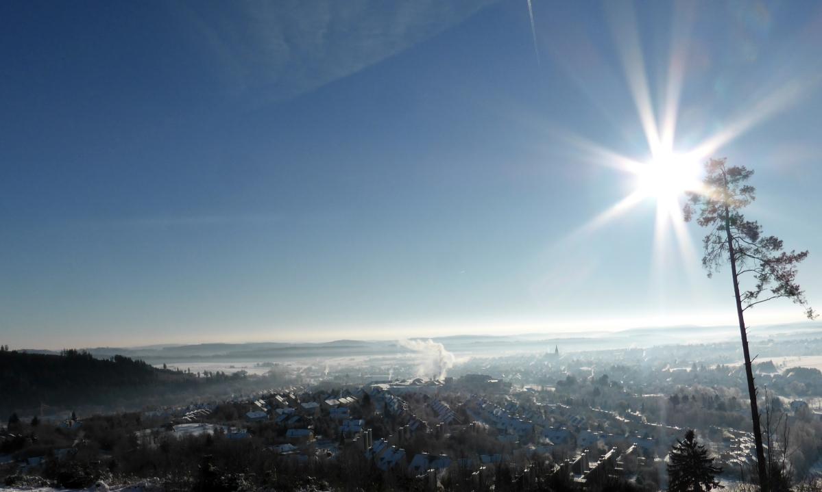 Hansestadt Medebach im Winter