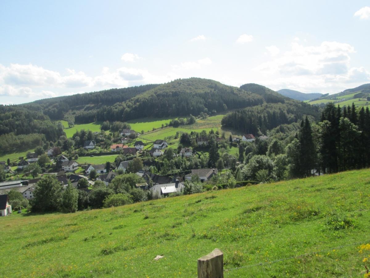 Fernsicht auf Medebach-Referinghausen