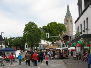 Straßenmalerfest in Medebach